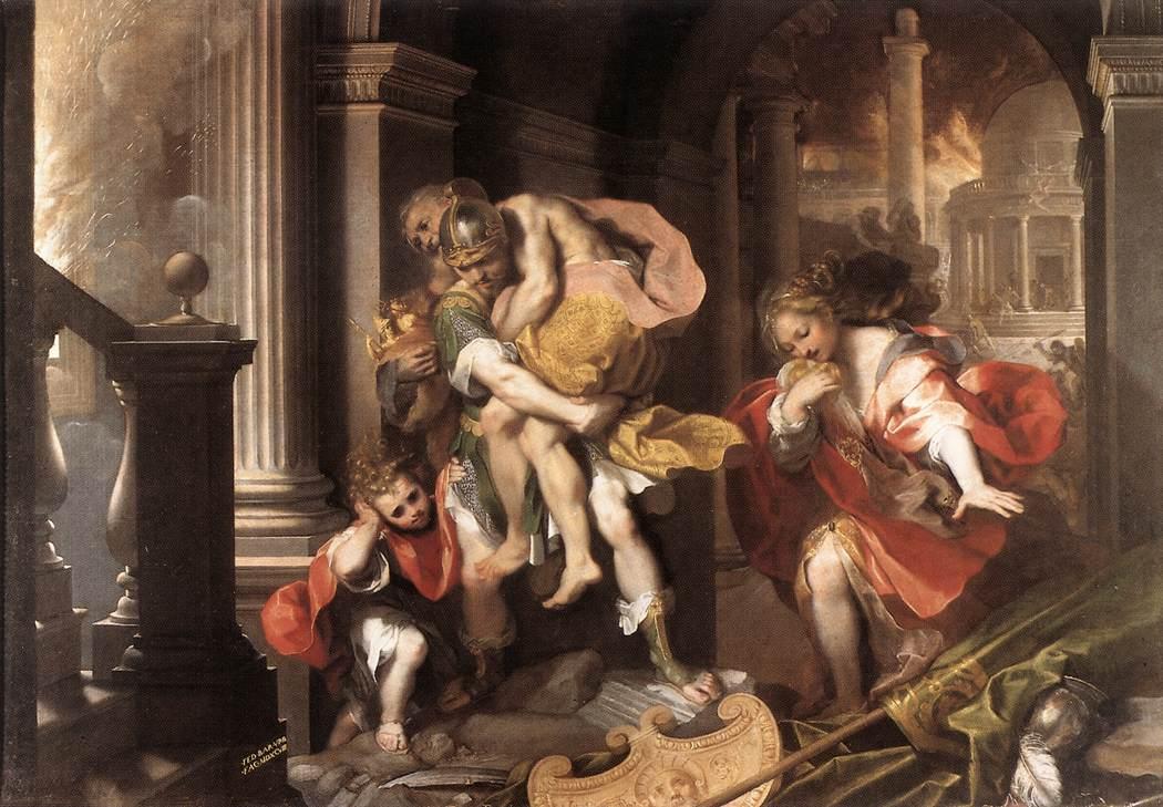 Mythologie Grecque Enée