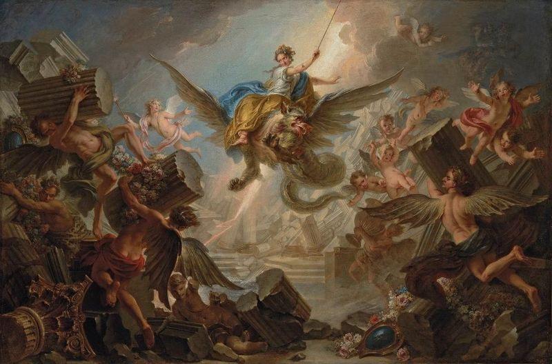 omphale_Mythes et légendes dans lart de Charles-Antoine COYPEL