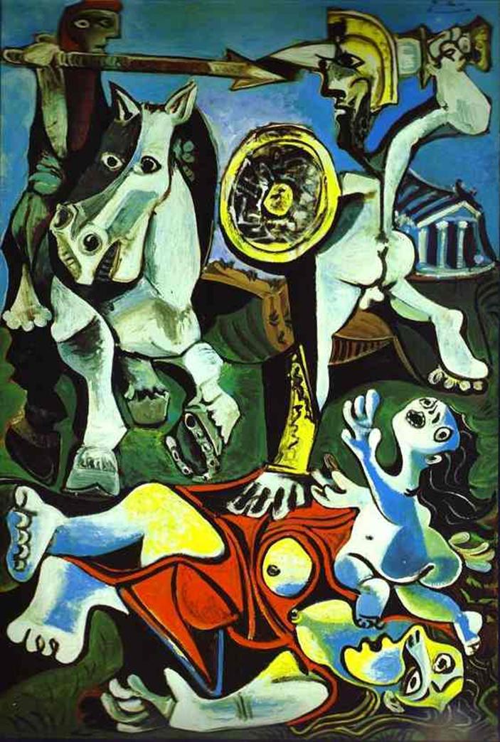Favori Mythes et légendes dans l'art de Peintre : Pablo Picasso YL27