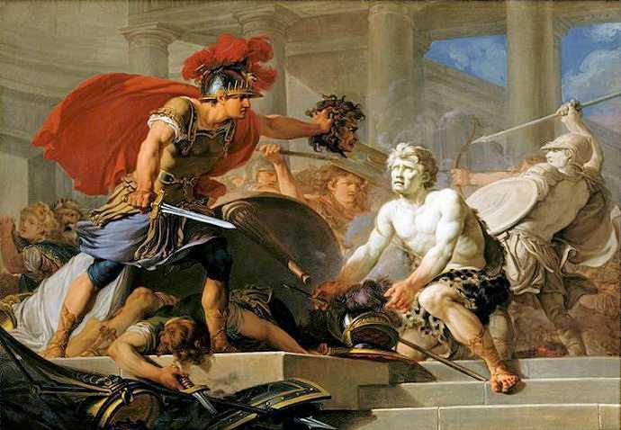 Mythes et légendes dans l'art d'Hugues TARAVAL | 690 x 478 jpeg 45kB